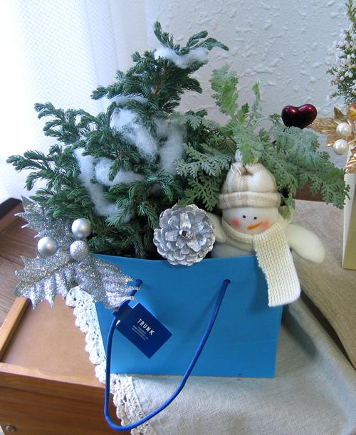 カジュアルクリスマスツリー(スノーマン)