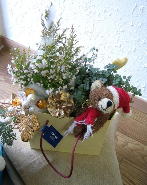 カジュアルクリスマスツリー(くま)